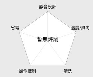 歌林 5-7坪DIY冷暖型移動式空調(KD-301M04) 雷達圖