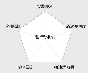 SAKURA 櫻花牌 烤漆白色單層式除油煙機 - 70CM (R-3012S) 雷達圖
