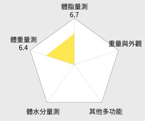 OMRON 歐姆龍體重體脂計(HBF-214) 雷達圖