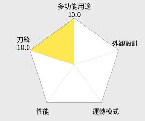 尚朋堂專業生機調理冰沙機 (SJ-2000M) 雷達圖
