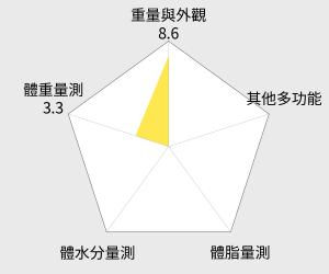 OMRON歐姆龍 體重體脂計(HBF-217) 雷達圖