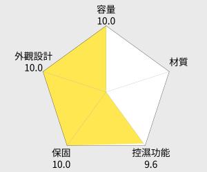 收藏家 電子防潮箱 - 72公升 (AD-72) 雷達圖