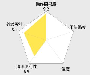 Kolin歌林 圓型鬆餅機(KT-LNW01) 雷達圖