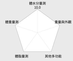 TANITA 體脂計 UM-070 雷達圖
