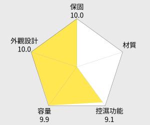 防潮家 電子防潮箱 - 82公升 (D-82CA) 雷達圖