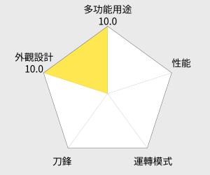 recolte麗克特 Quatre 時尚小型食物調理機(RCP-2) 雷達圖