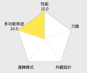 TESCOM 蔬果榨汁調理機(TJ111) 雷達圖