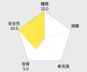 鐵三角 CK330iS 耳塞式耳機(ATH-CK330iS) 雷達圖