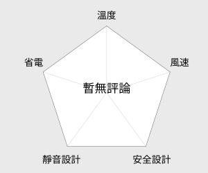 SANYO三洋陶瓷定時式電暖器(R-CF509T) 雷達圖