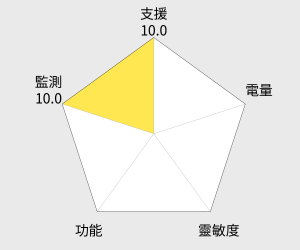 EPSON Runsense SF-110 運動手錶 雷達圖