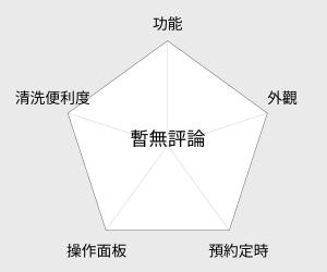 晶工牌 厚釜電子鍋 - 3人份 (JK-1303) 雷達圖