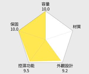 防潮家 84公升電子防潮箱 (FD-82CA) 雷達圖