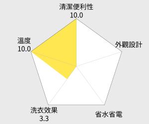 LG樂金17公斤6Motion蒸善美DD變頻洗衣機(WT-SD173HVG) 雷達圖
