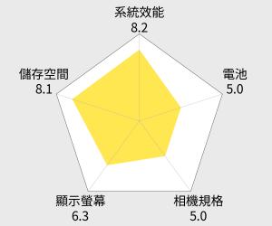 LG 樂金 X fast 六核5.5吋智慧手機 雷達圖