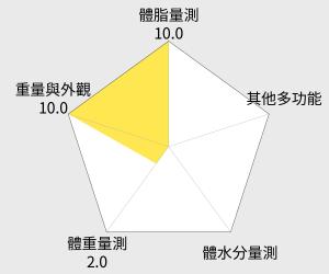 TANITA體脂計 UM-051 雷達圖