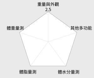 TANITA 四合一體組成計(BC753) 雷達圖