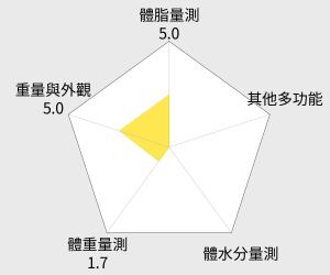 OMRON 歐姆龍體重體脂計(HBF-370) 雷達圖