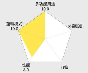九陽全自動智能豆漿機DJ13M-D08SG (乳牛旗艦版) 雷達圖