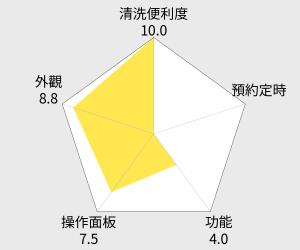 Mitsubishi 三菱 6人份蒸氣回收IH電子鍋 - 紅 / 白 (NJ-EXSA10JT) 雷達圖