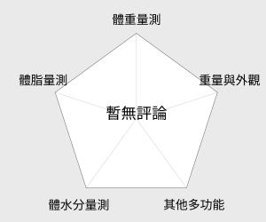 日本 TANITA 大螢幕超薄電子體重計(HD-381) 雷達圖