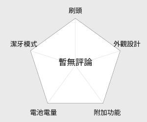 Panasonic國際牌 音波震動電動牙刷(EW-DL82) 雷達圖