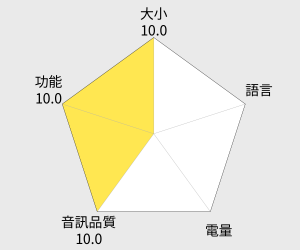 DENPA 彩色擴充錄音筆4GB (S-111) 雷達圖