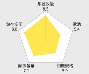 LG X Style 5吋四核心LTE智慧手機 (1.5G/16G) 雷達圖