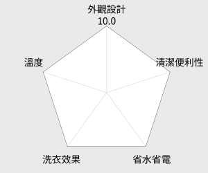 SAMPO聲寶 10.5KG微電腦洗衣機(ES-D11F(G)) 雷達圖
