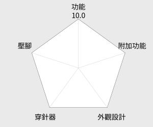 日本車樂美JANOME 機械式縫紉機 (JF-512) 雷達圖