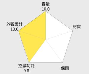 收藏家 電子防潮箱 - 242公升 (AXL-250) 雷達圖