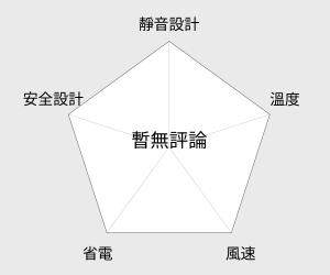 嘉儀 頂級等離子搖控大廈扇(KEF-121) 雷達圖
