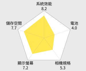 HTC 宏達電 U Play 3D水漾玻璃雙卡智慧型手機 - 5.2吋 (64G) 雷達圖