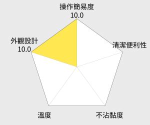 TECO東元 超厚片翻轉鬆餅機(XYFYA2901) 雷達圖
