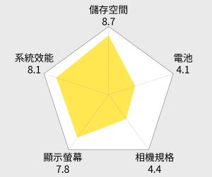 LG optimus G2 四核心智慧型手機 32G 雷達圖