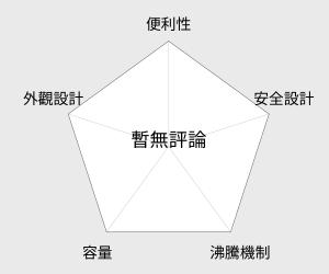 Kolin歌林 LED耐熱玻璃1.8公升快煮壺 (KPK-MNR1829G) 雷達圖