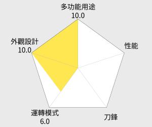 KOLIN 歌林健康迷你果汁機(JE-R05C) 雷達圖