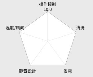 TECO 東元13-18坪右吹窗型冷氣R410A(MW63FR1) 雷達圖