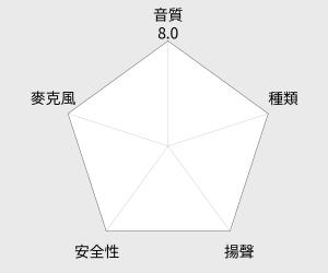 鐵三角 iPhone/iPad/iPod專用耳塞式耳機(ATH-CK330i) 雷達圖