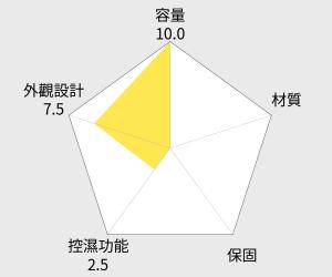 防潮家 電子防潮儲物櫃 - 365公升 (D-306C) 雷達圖