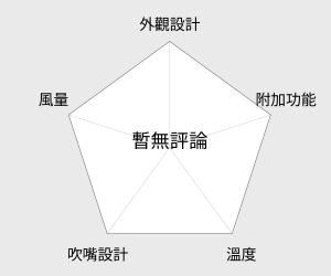 SANYO 三洋負離子摺疊吹風機(HD-109N) 雷達圖