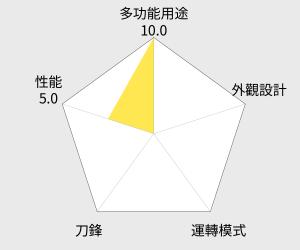 SAMPO 聲寶 隨行杯三杯組果汁機 (KJ-L13061L) 雷達圖