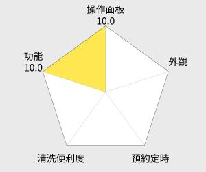 虎牌 10人份微電腦電子鍋( JBV-T18R) 雷達圖