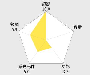 CASIO EX-TR50美肌自拍神機 雷達圖