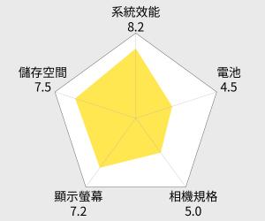 HTC Butterfly S 四核蝴蝶進化機 雷達圖